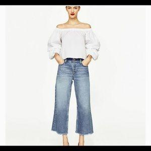 Zara Off Shoulder Top XS